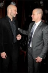 Ben with Matt Damon