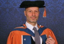 Doctorate from Plymouth University