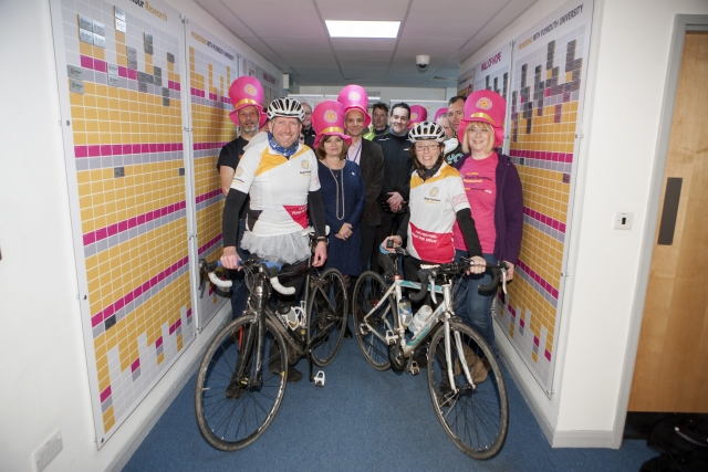BENJAMIN CYCLES FOR BRAIN TUMOUR RESEARCH <br />3rd March 2015