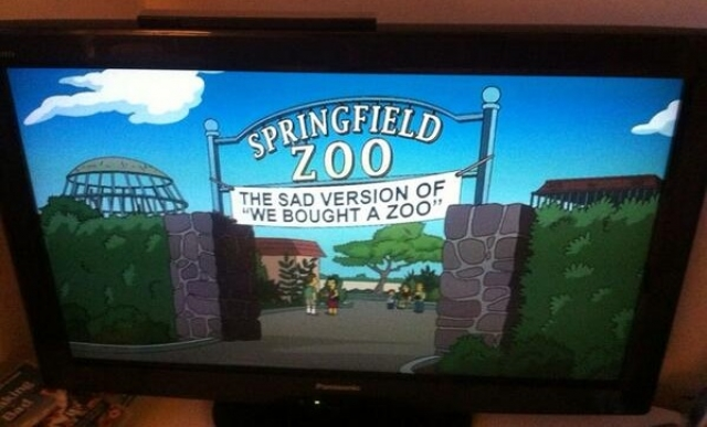 'WE BOUGHT A ZOO' ON 'THE SIMPSONS'! <br />7th May 2014